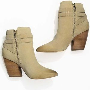 Pelle Moda Distressed Suede Boots NWT 6.5
